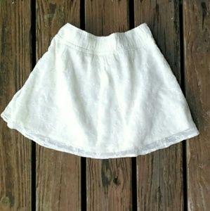 Abercrombie & Fitch mini skirt white